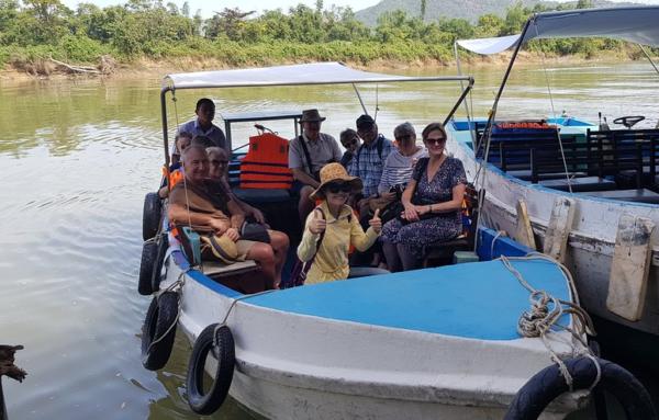 Promenade sur la riviere - Nha Trang
