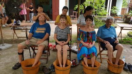 Hoian River Tour - Foot Massage